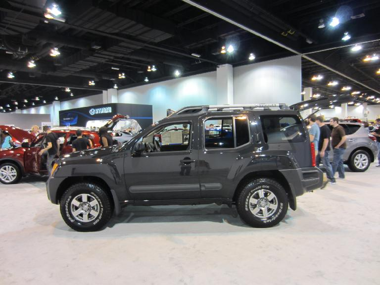 Kelly is a fan of the Nissan Xterra.