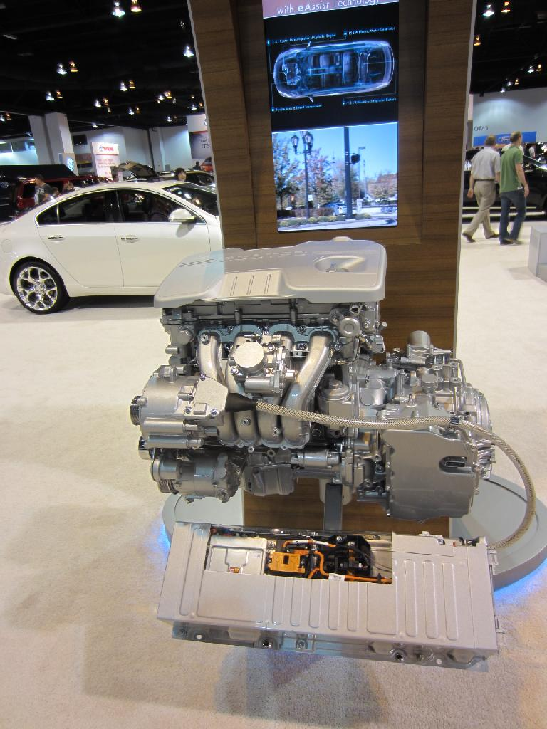 This Ecotec 4-cylinder engine with eAssist is used in some General Motors vehicles.