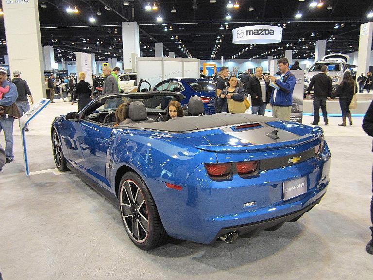 Hot Wheels edition of the Camaro convertible.