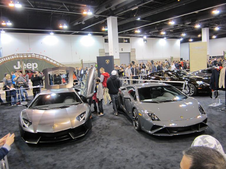 Lamborghini Murcielago and Gallardo.