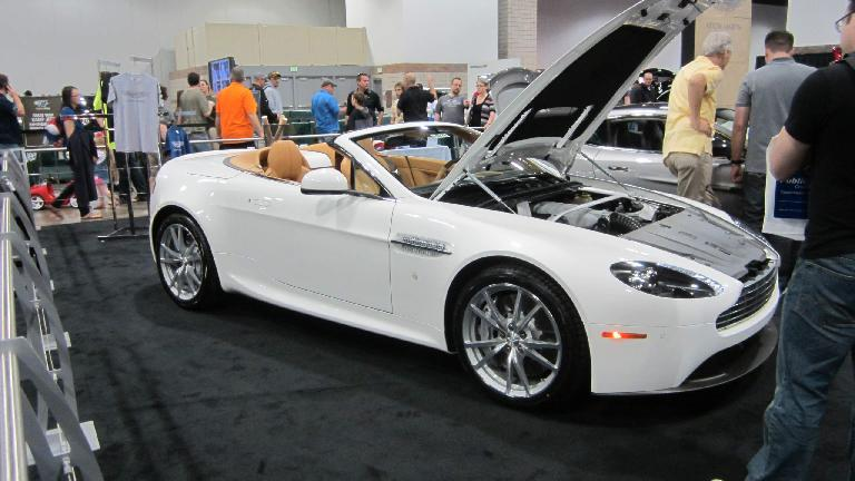 Aston Martin Vantage Roadster.
