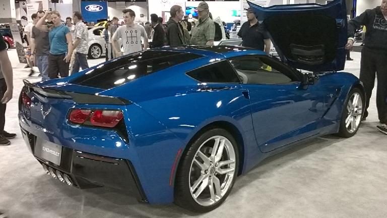 The new 2015 Chevrolet Corvette Stingray was a job well-done by General Motors all around.