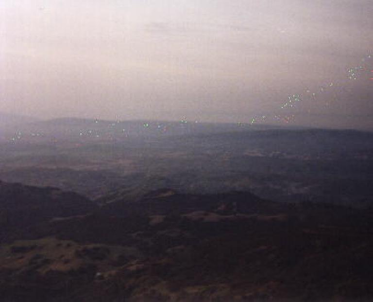 The view from the top of Mt. Diablo.