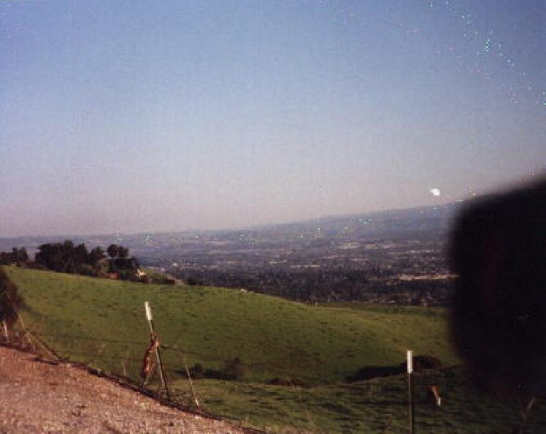 The view from Sierra Rd. during the 1999 Devil Mountain Double Century.