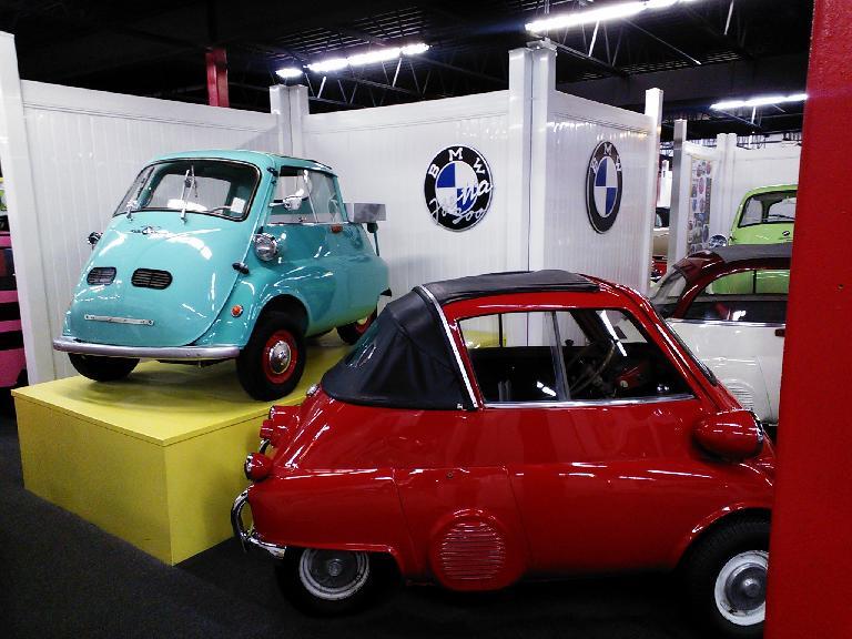 BMW Isettas.