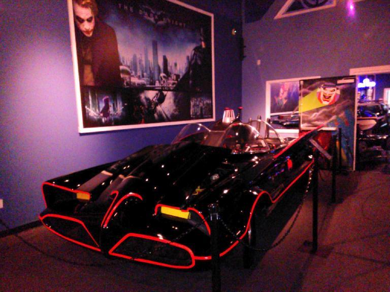 The original Batmobile, based on a Lincoln Future concept car.
