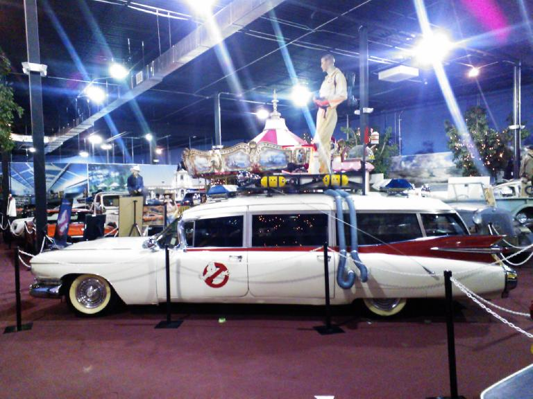 Ghostbusters car.