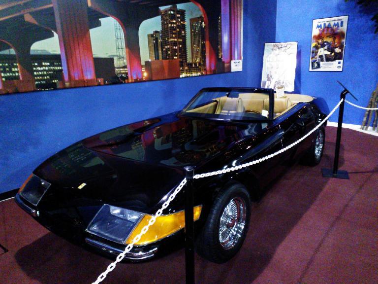 Don Johnson's Miami Vice Ferrari Daytona (actually a Corvette-based kit car).