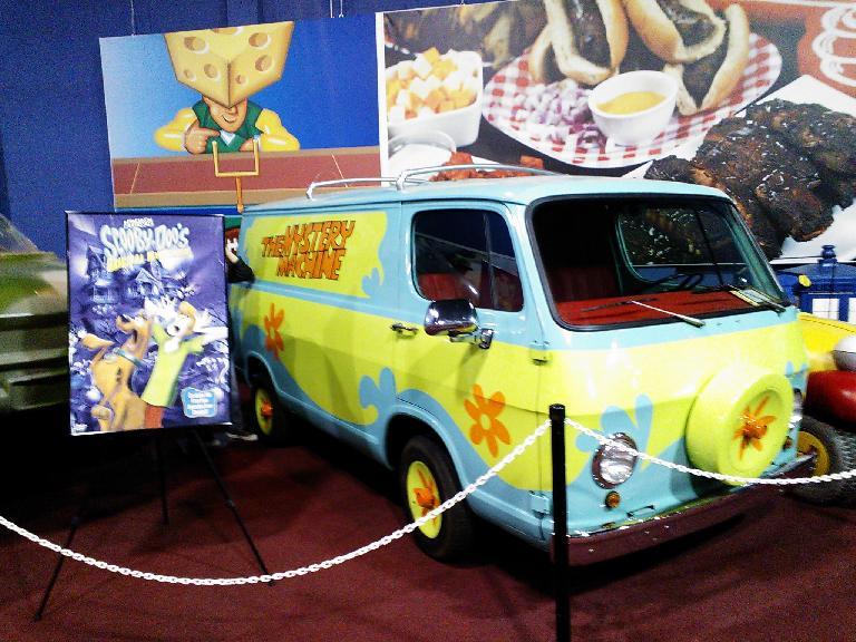 The Scooby Doo Mystery Machine.