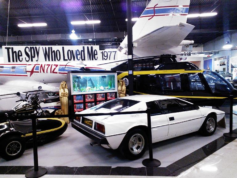 A Lotus Esprit that turned into a submarine in one of the Bond movies.
