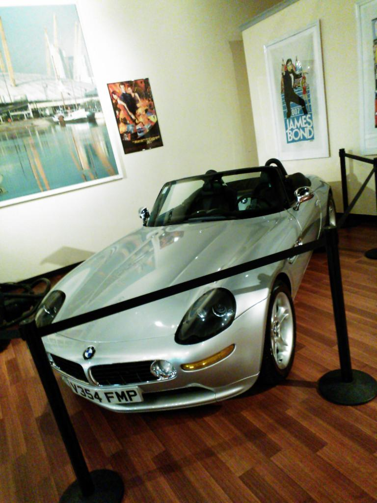BMW Z8 as used in The World is Not Enough (1999).