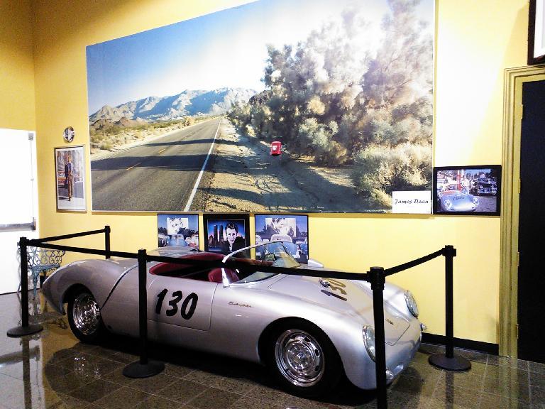 James Dean Porsche Spyder.