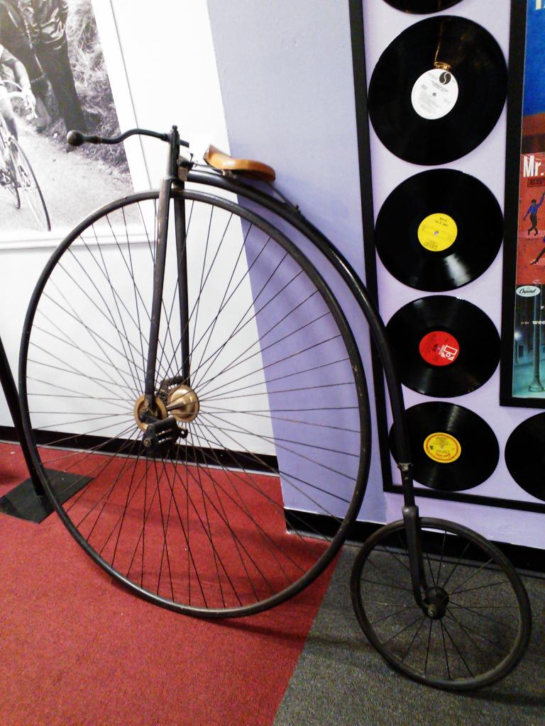 Penny-farthing.
