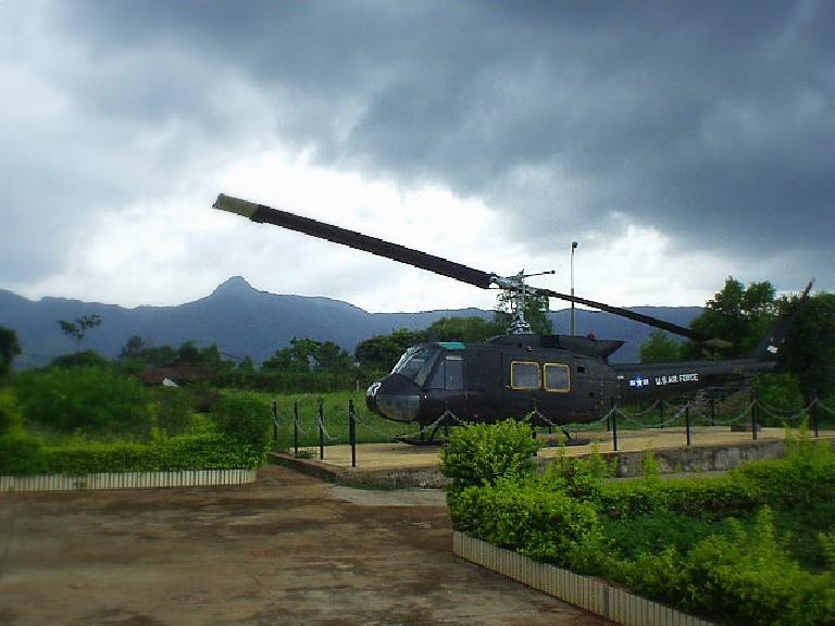 U.S. Army helicopter.