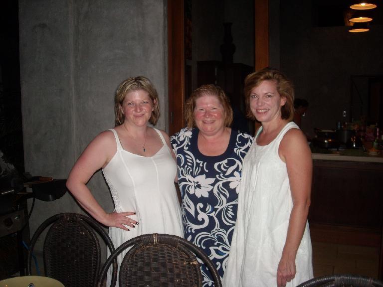 Charis, Karie, and Barbara looking very elegant. (March 17, 2011)