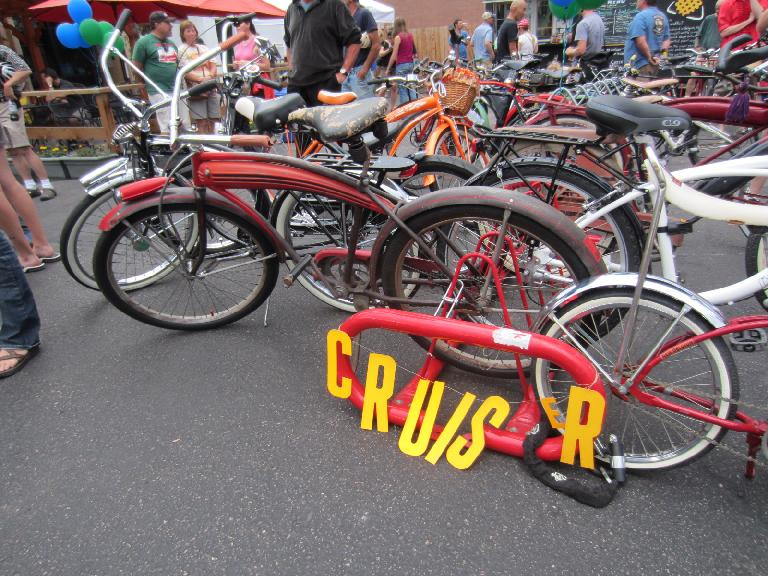 Cruiser with faux gas tank.