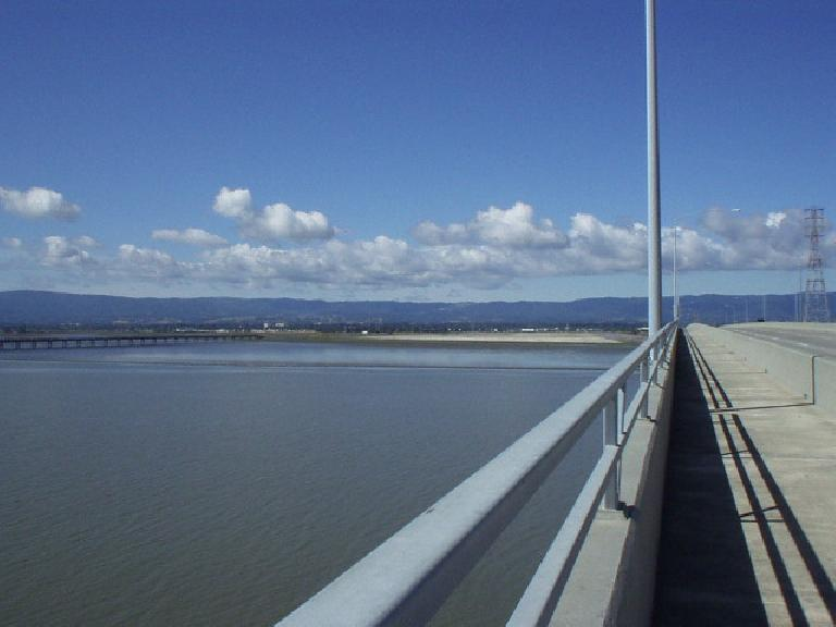 Dumbarton Bridge bike trail