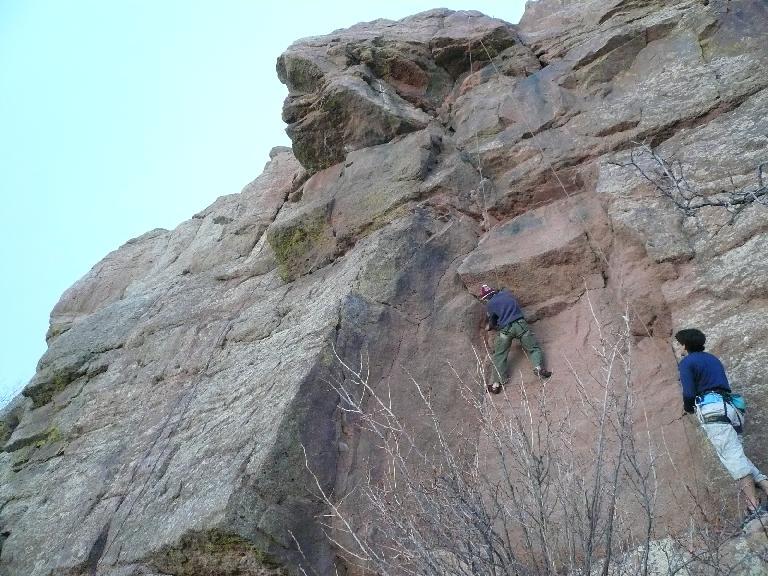 Still on the crack climb...