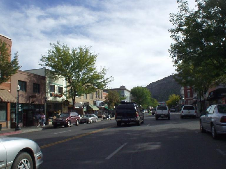 Downtown Durango.  In contrast to Silverton, this did feel like a real town with 14,000 residents.