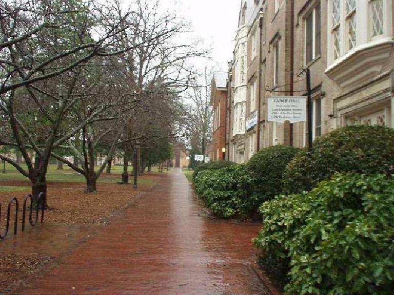 buildings at Duke University