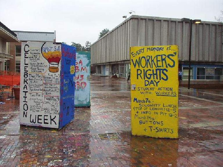 Celebration Week, Workers Rights Day, Duke University campus