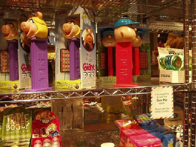 Miss Piggy toys