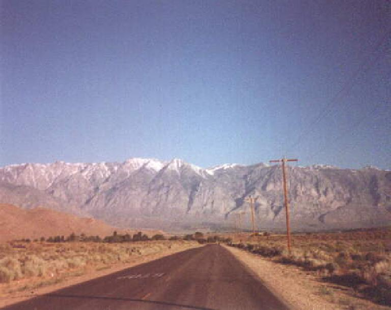 eastern Sierra mountains, Bishop