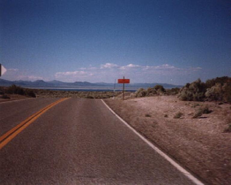 hill, road, 1998 Eastern Sierra Double Century
