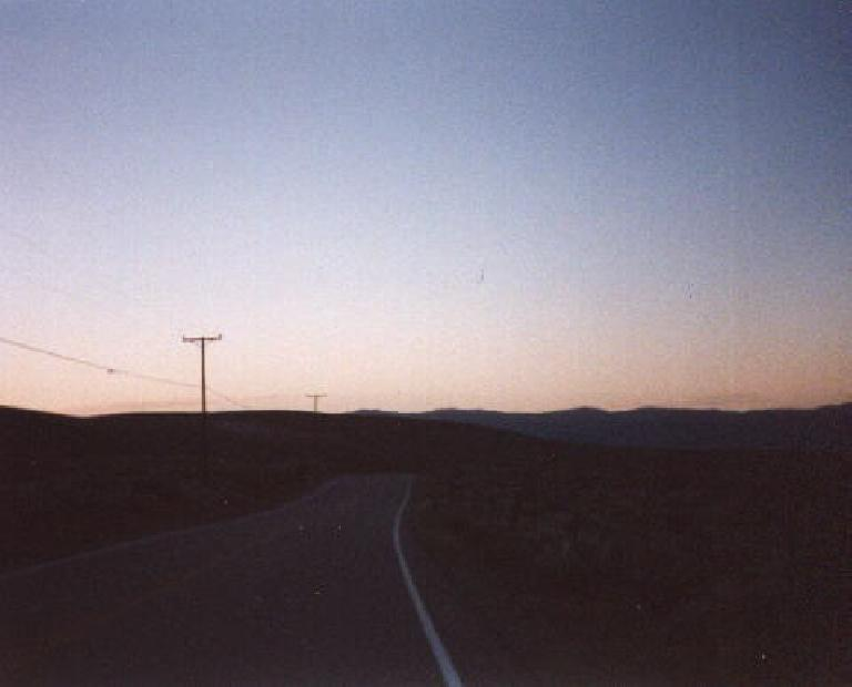 getting dark, 1998 Eastern Sierra Double Century