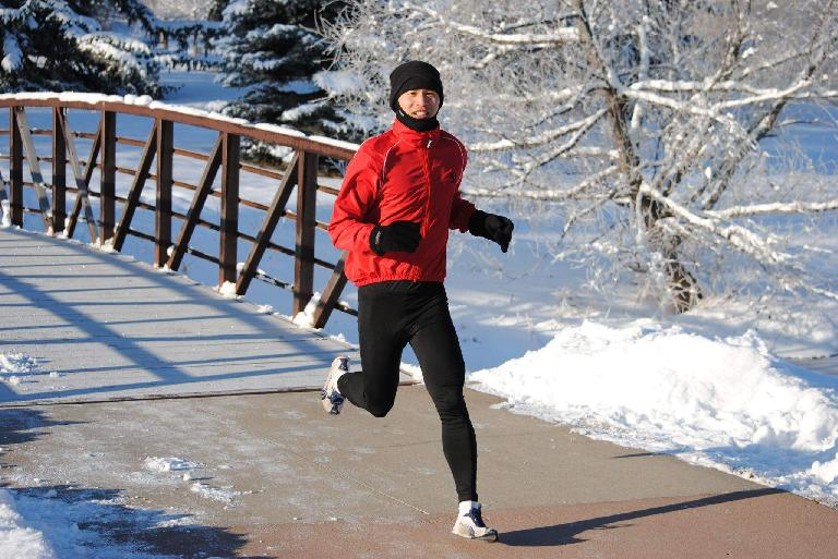 Felix Wong, red windbreaker, Edora Park 8k