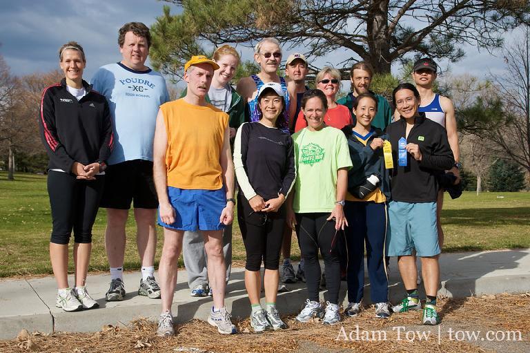 Group photo. Photo: Adam Tow.