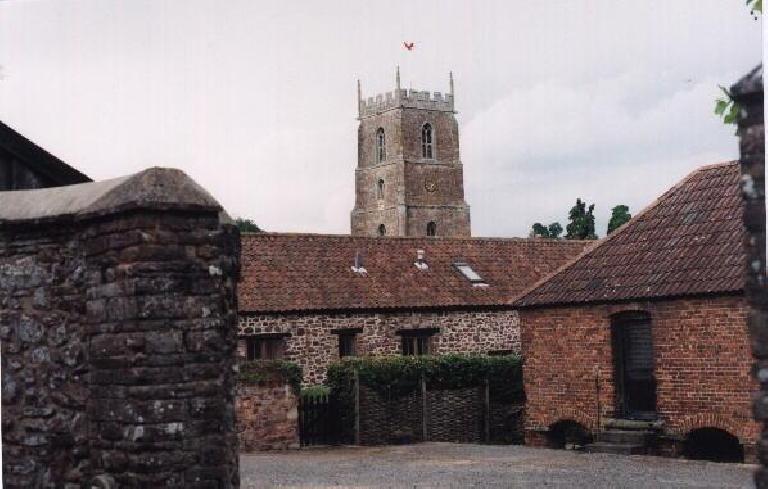 Dunster Castle. (August 15, 2000)