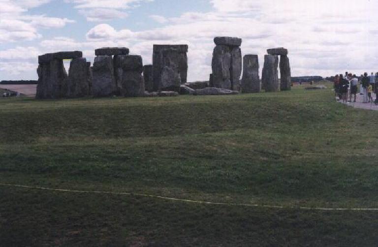 Stonehenge. (August 15, 2000)