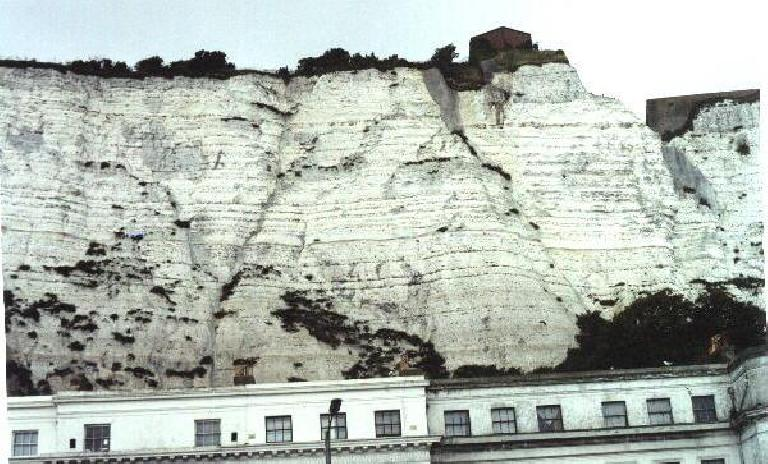 The white cliffs of Dover. (August 14, 2000)