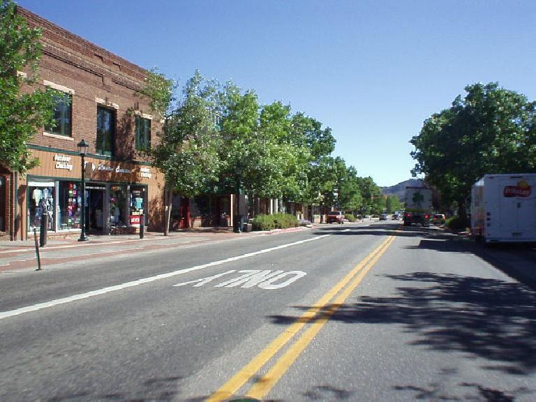 Downtown Estes Park.