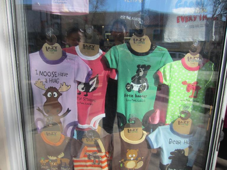 Funny t-shirts.