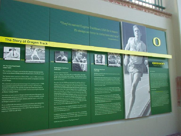 Here is a tribute to Steve Prefontaine, who at one time held every American record for 2-10,000 meters.