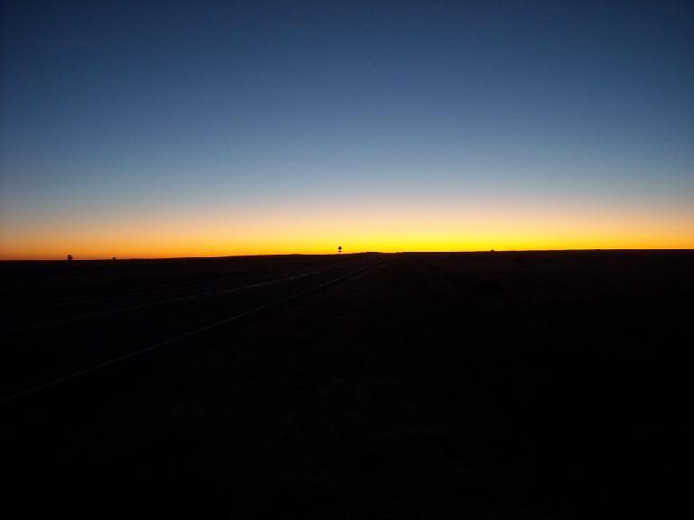 7:00am sunrise.