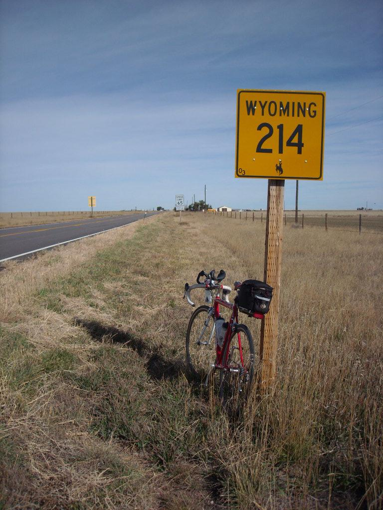 [Mile 78] Made it into Wyoming.