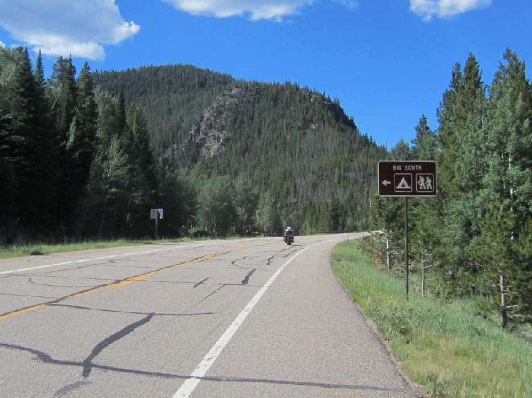 [Mile 60] Big South Trail.
