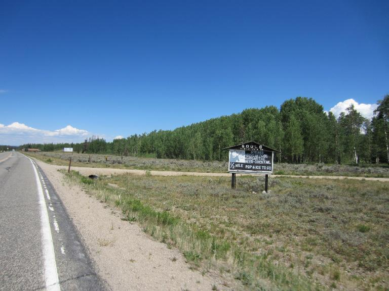 [Mile 80] Now in Gould, CO.