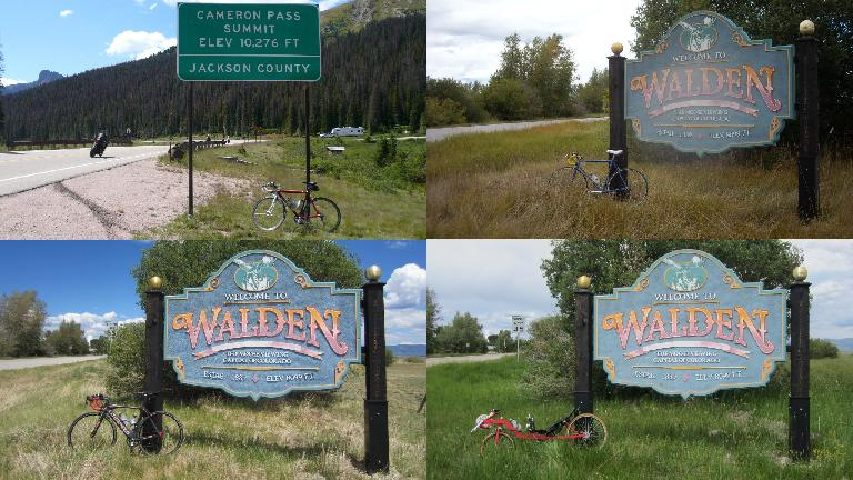 So far I have ridden to Walden and back on four different bicycles.