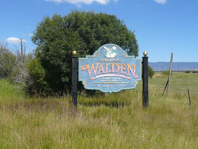 [Mile 99, 1:13p]  Made it to Walden!