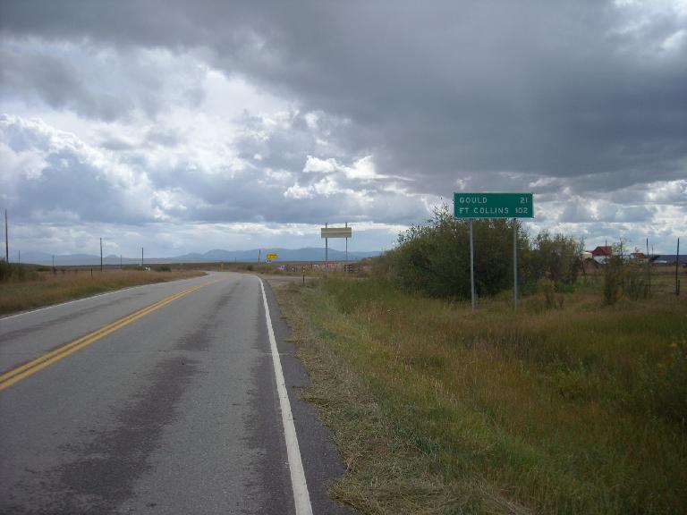[Mile 102] Heading back towards Fort Collins.