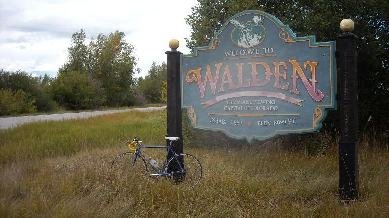 Made it to Walden on 1983/4 bicycle technology.
