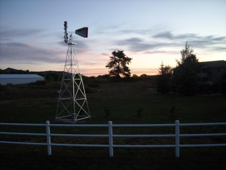 [Mile 9] Windmill in Laporte.