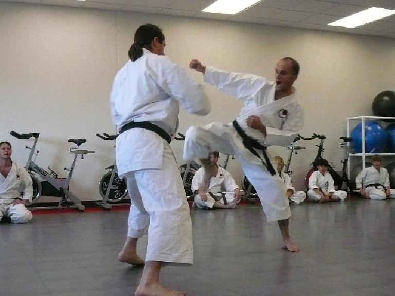 More karate. (December 1, 2007)