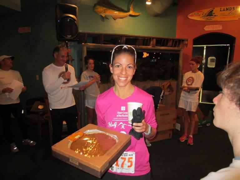 Lisa won a pie!