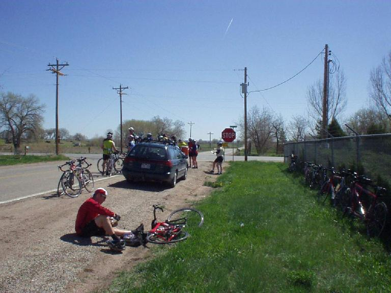 The second rest stop was a minor disappointment due to not having any food.