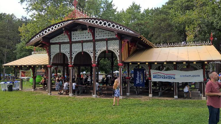 Chinese Pavilion at Tower Grove Park